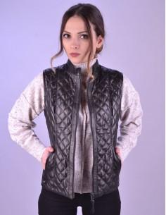 Mens Smart Brown Leather Jacket - 6028